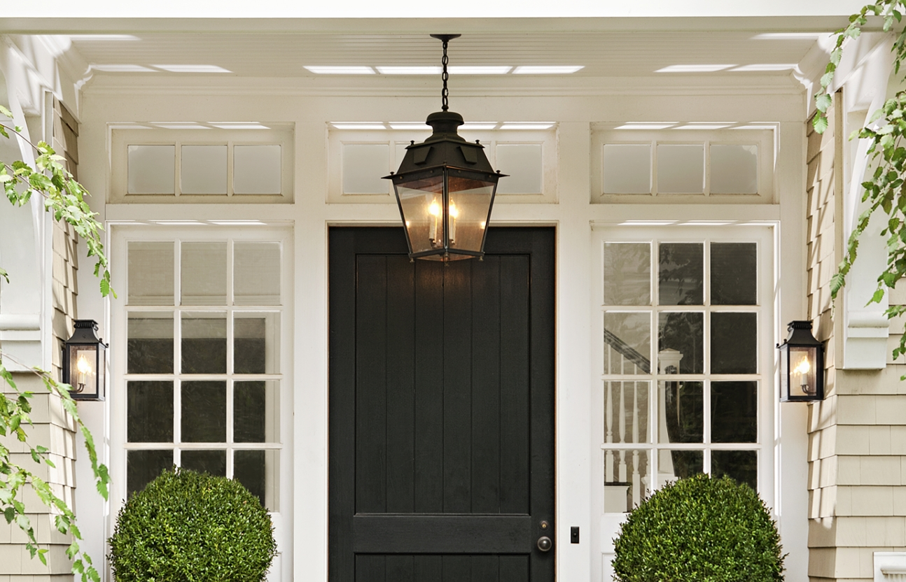Popular Outdoor Storm Lanterns Regarding Guida Door & Window: Blog : Outdoor Lighting That Enhance Your Entry Way (Gallery 10 of 20)