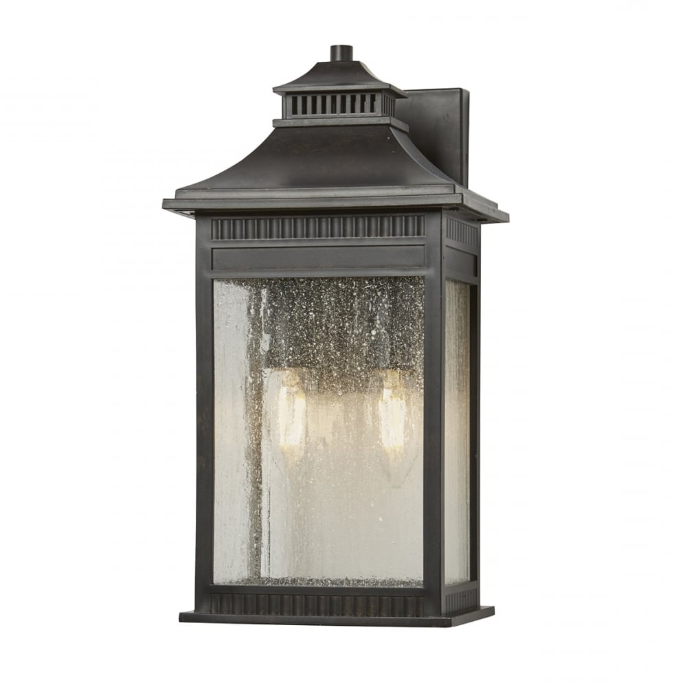 Popular Outdoor Weather Resistant Lanterns With Regard To Rich Bronze Outside Wall Lantern, Rust Proof Material For Coastal Areas (Gallery 20 of 20)