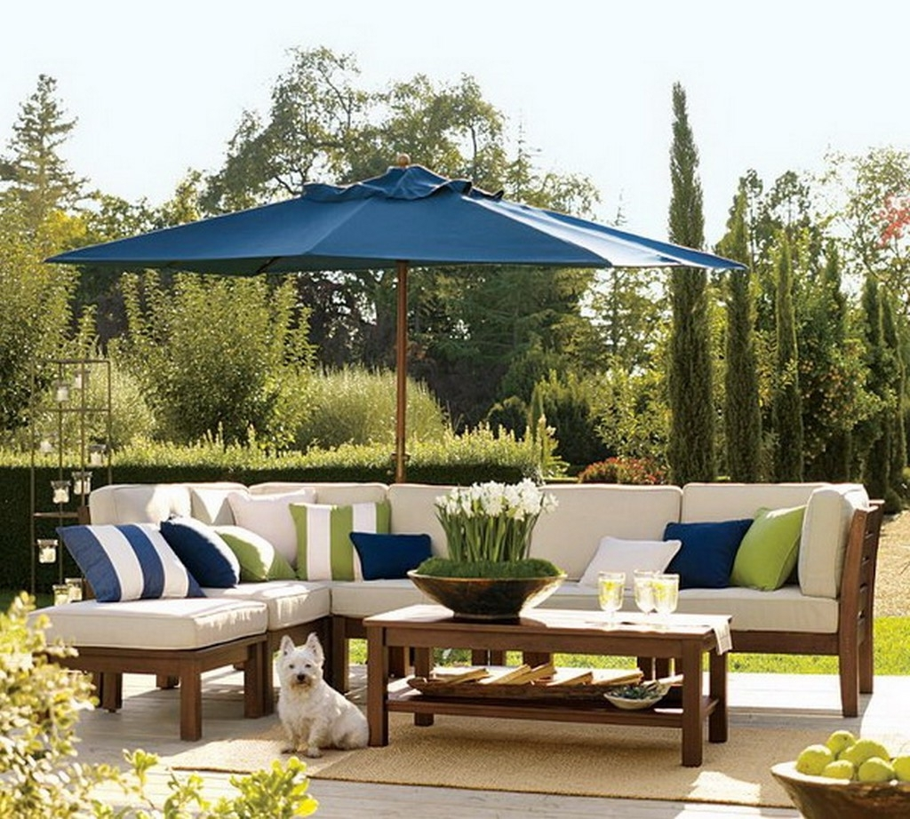 Popular Patio Umbrellas With Table Intended For Collection In Patio Umbrella Table Patio Tables With Umbrellas All (Gallery 20 of 20)