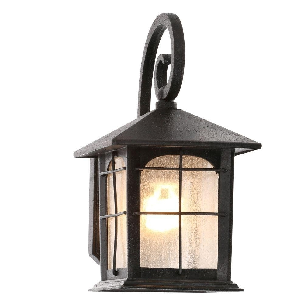 Popular Plug In Outdoor Lanterns Intended For 20 Ideas Of Outdoor Wall Lights With Electrical Outlet (View 16 of 20)