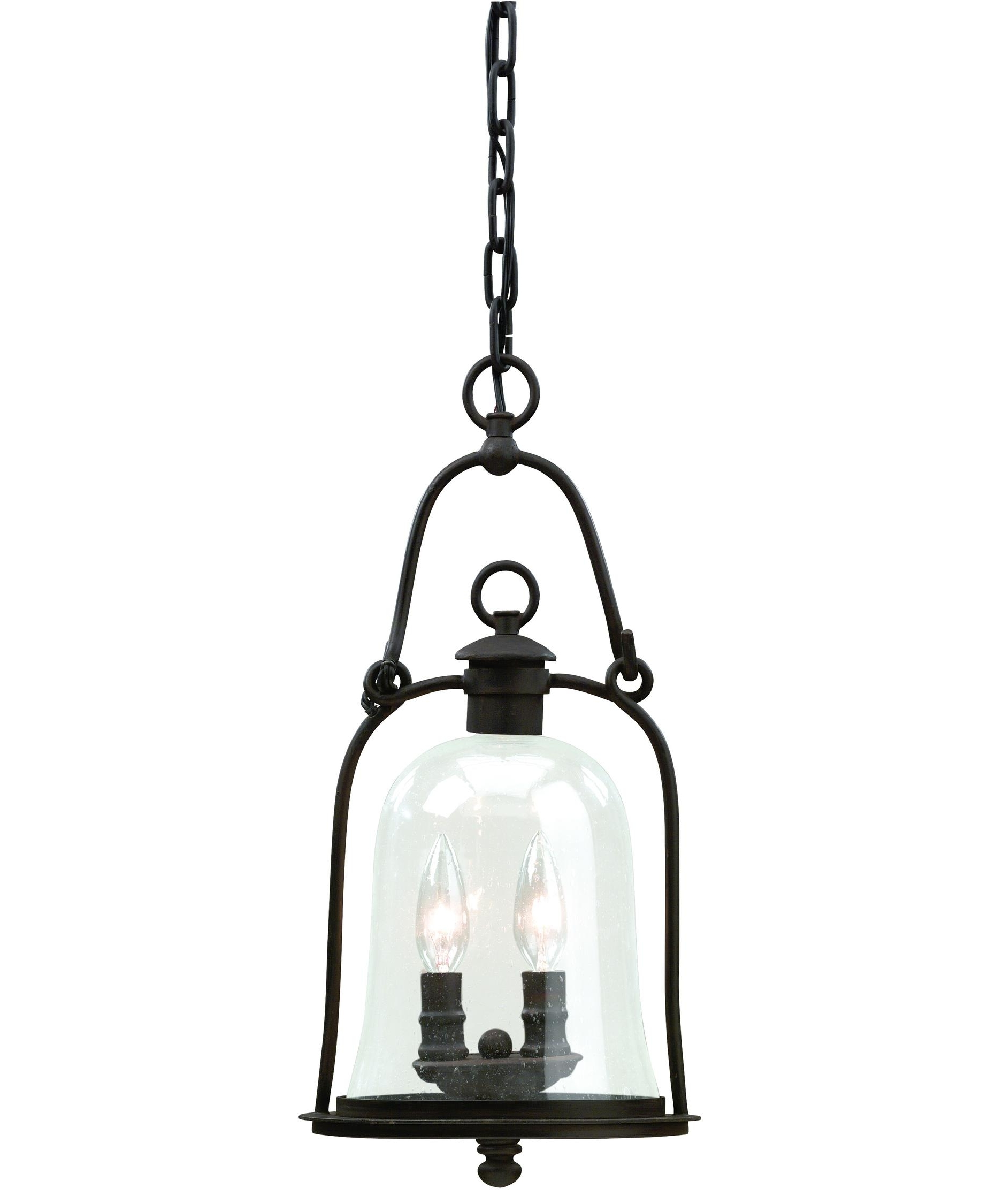 Popular Quality Outdoor Lanterns Regarding Troy Lighting F9466 Owings Mill 9 Inch Wide 2 Light Outdoor Hanging (Gallery 7 of 20)