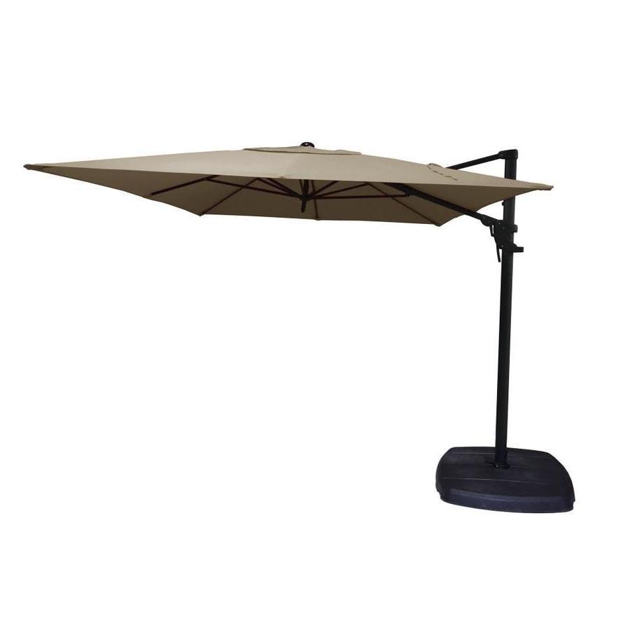Popular Unusual Patio Umbrellas Pertaining To Marvelous Offset Patio Umbrellas Fiberbuilt Umbrellas Target Offset (View 10 of 20)