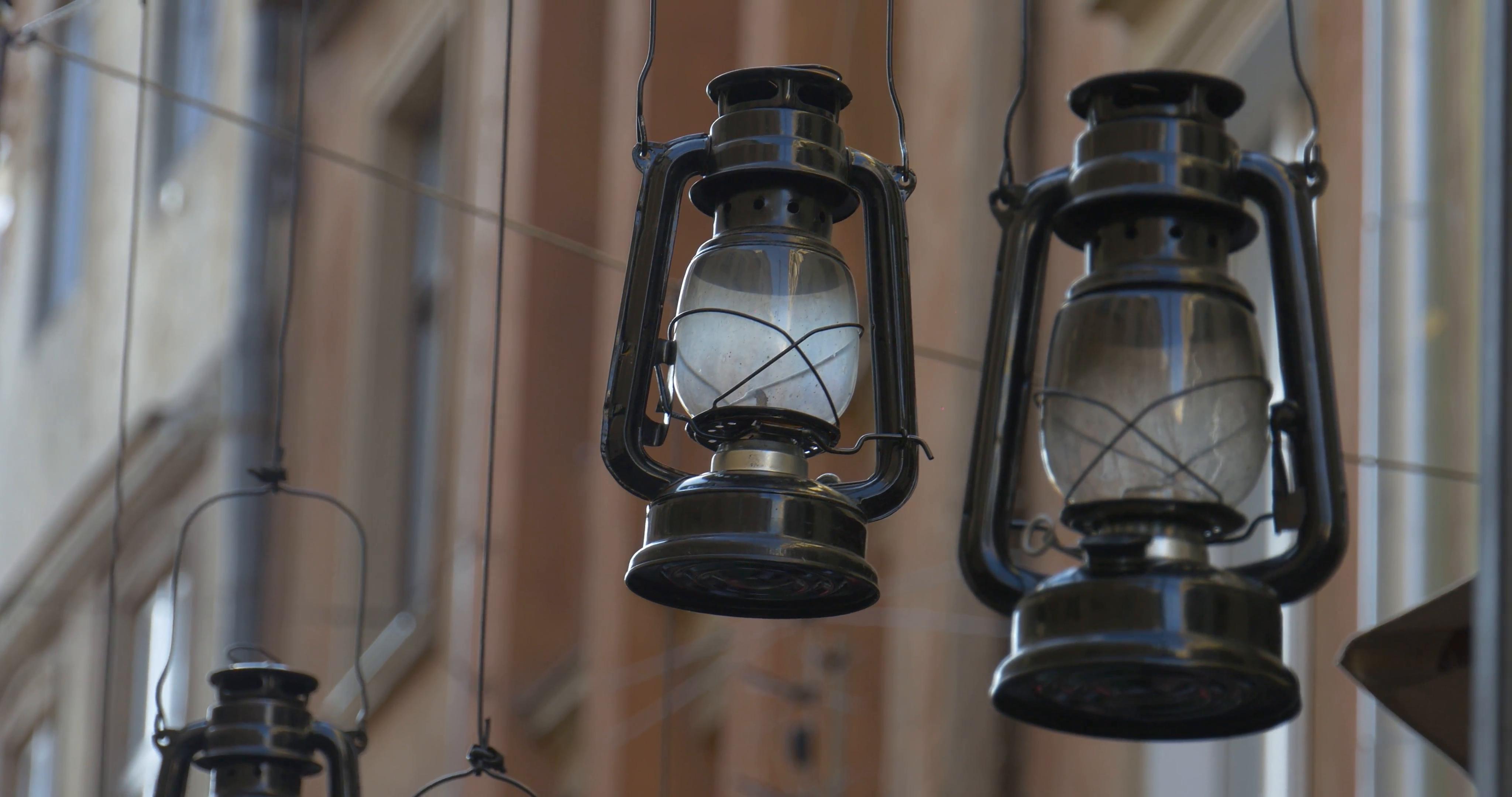 Popular Vintage Lamps, Kerosene Lamps, Hanging At The Street, Decor In Decorative Outdoor Kerosene Lanterns (View 17 of 20)