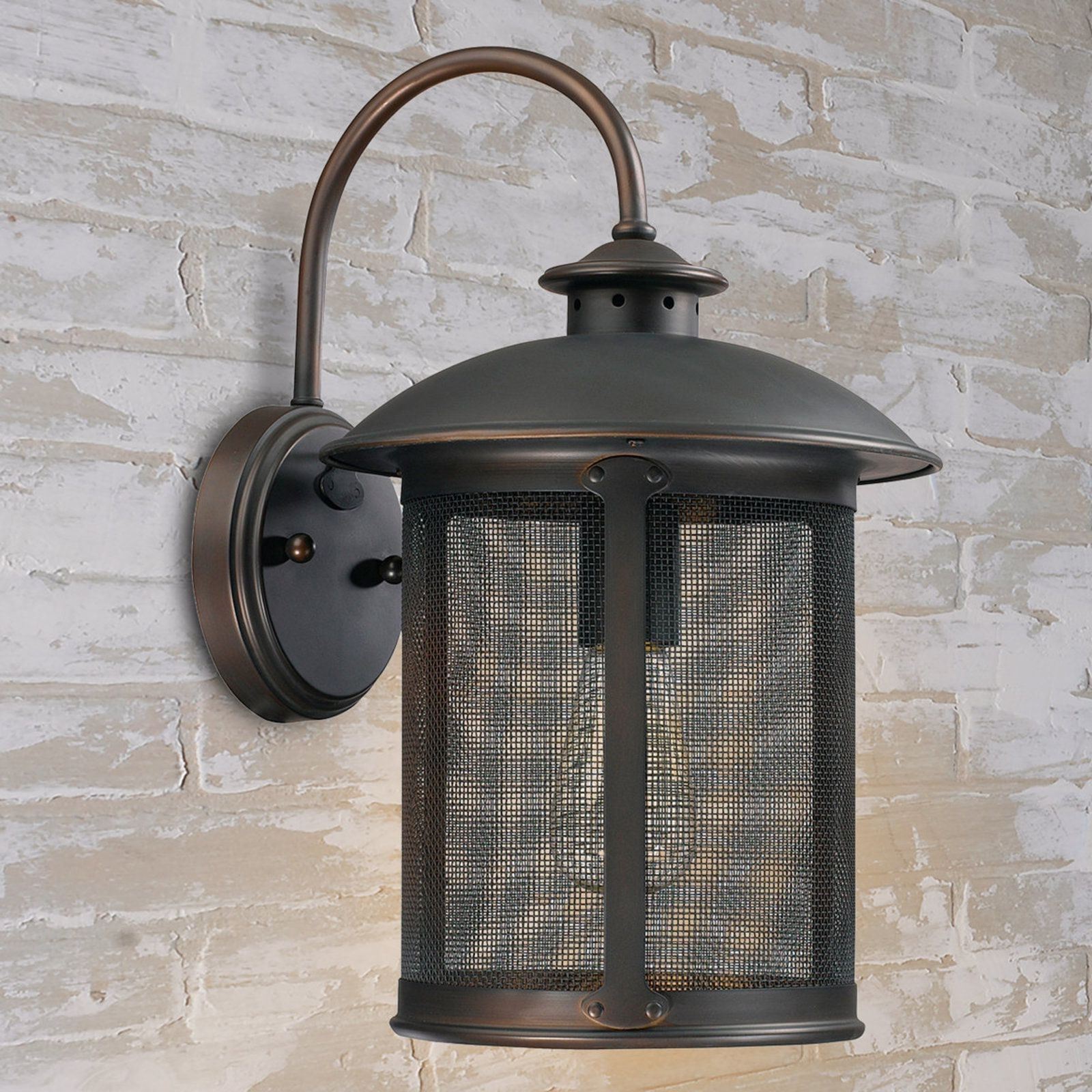 Prairie Screened Outdoor Sconce (View 18 of 20)