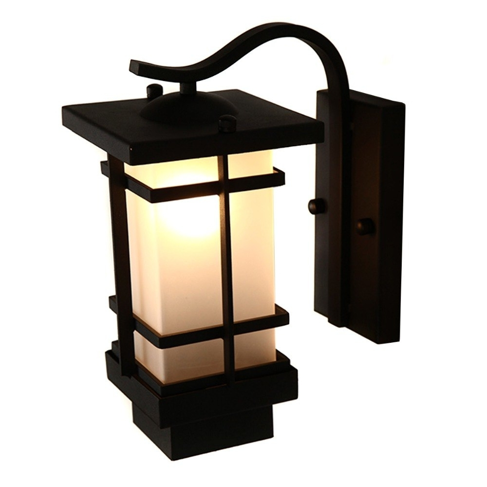 Preferred Antique Rustic Iron Waterproof Outdoor Wall Lamp Vintage Kerosene In Outdoor Kerosene Lanterns (View 18 of 20)