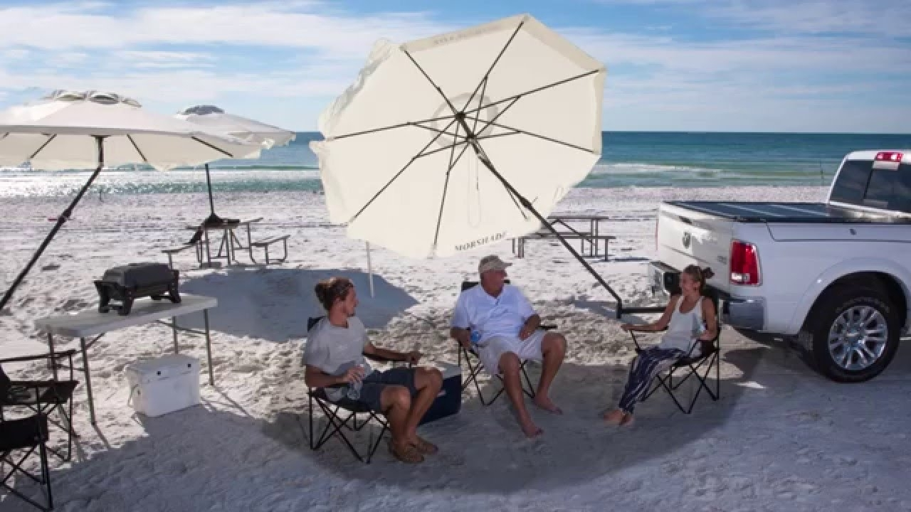 Preferred Best Outdoor Patio And Portable Umbrella Wind Resistant – Youtube Throughout Wind Resistant Patio Umbrellas (View 10 of 20)