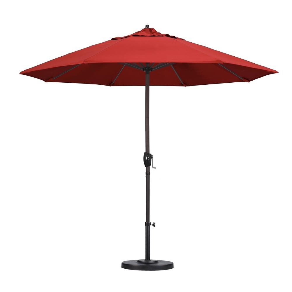 Featured Photo of Red Patio Umbrellas