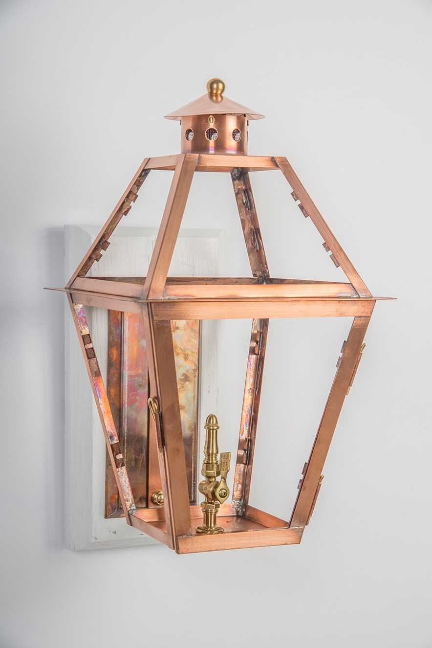 Preferred Copper Outdoor Lanterns Within Home (View 15 of 20)