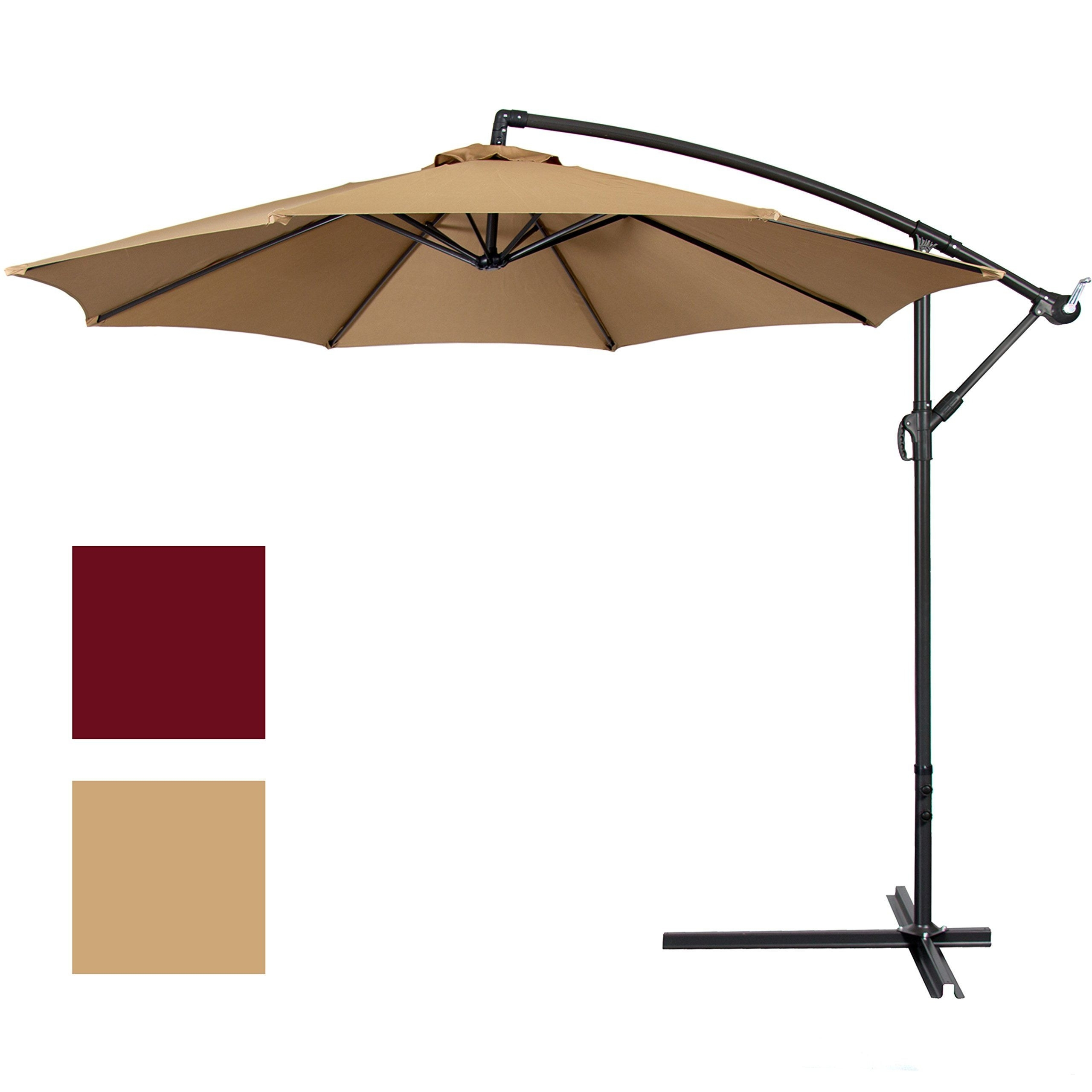Preferred Offset Patio Umbrellas – Fabulous Best Choice Products Fset 10 In Hanging Patio Umbrellas (Gallery 7 of 20)