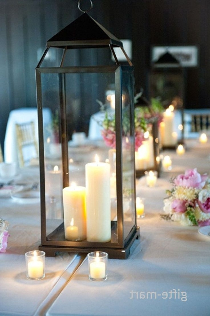 Preferred Outdoor Big Lanterns Throughout Outdoor Candles Lanterns And Lighting (View 13 of 20)
