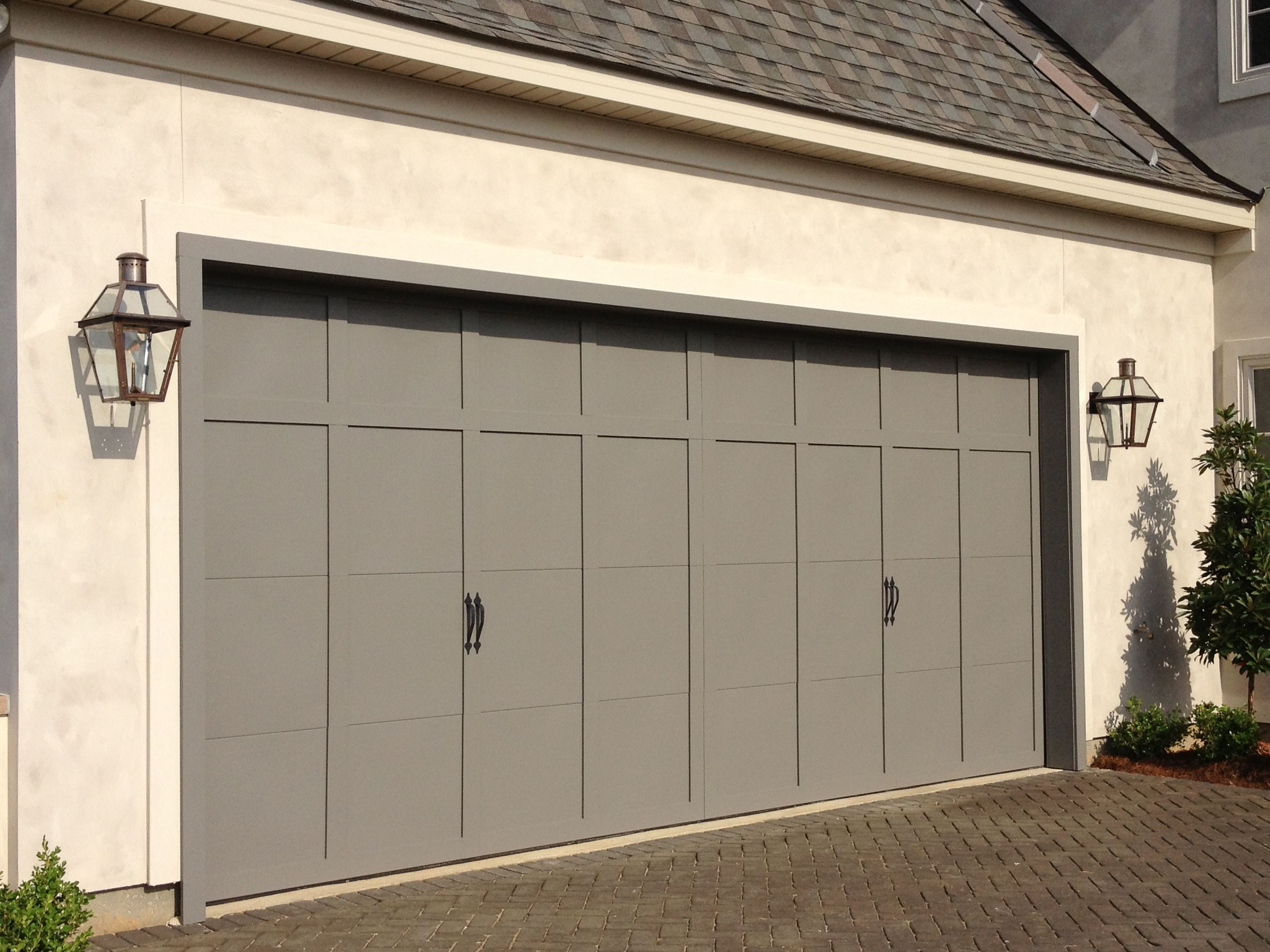 Preferred Outdoor Garage Lanterns Pertaining To Bevolo French Quarter Lanterns Perfect Flanking Garage Doors (View 19 of 20)
