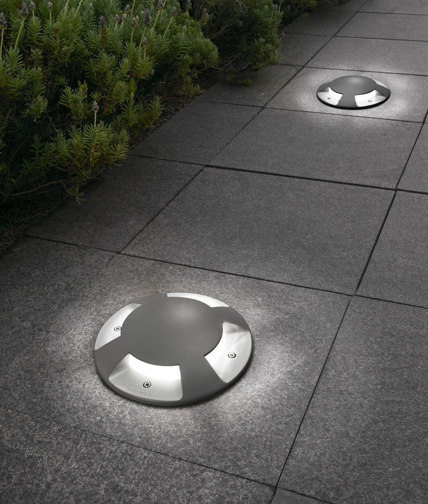 Preferred Outdoor Ground Lanterns With Exterior Recessed Indicator Ground Light 200Mm Diameter (Gallery 17 of 20)
