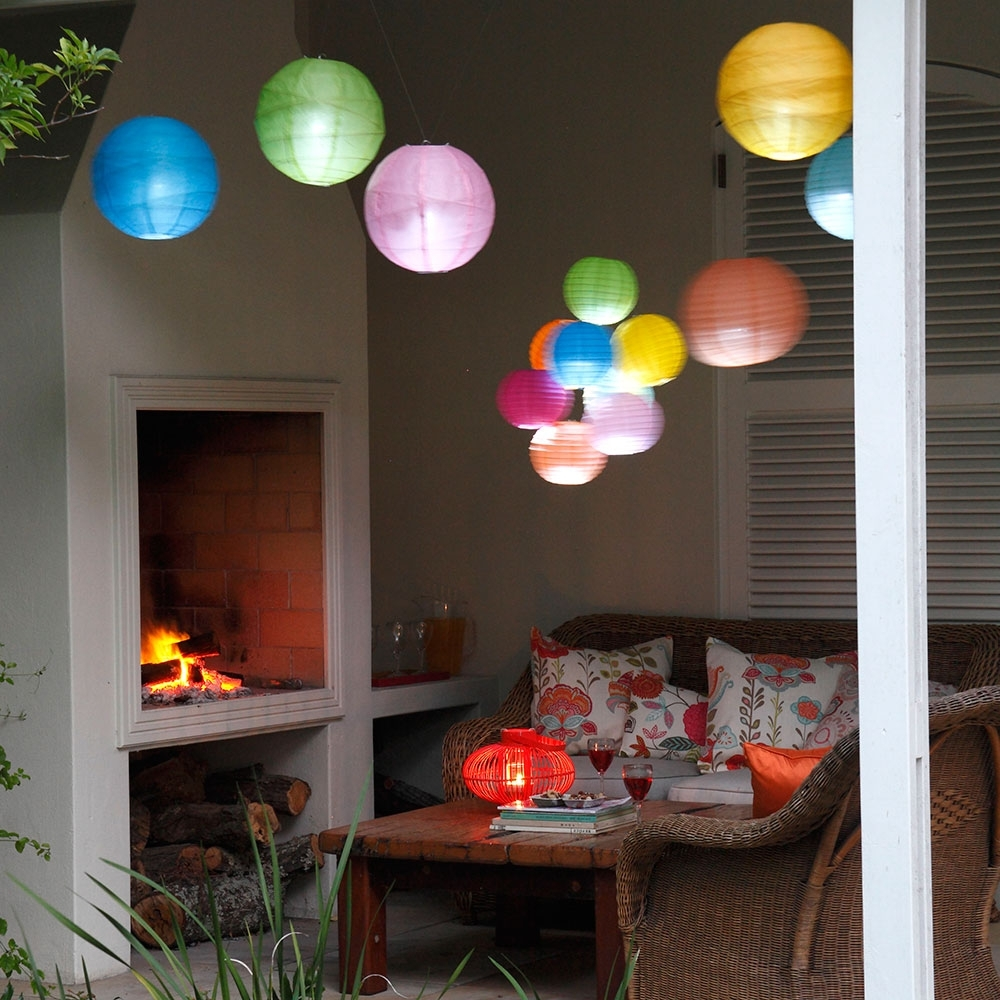 Preferred Outdoor Hanging Japanese Lanterns Inside Garden Lighting Ideas – Garden Lighting – Garden Lighting Solar (View 18 of 20)
