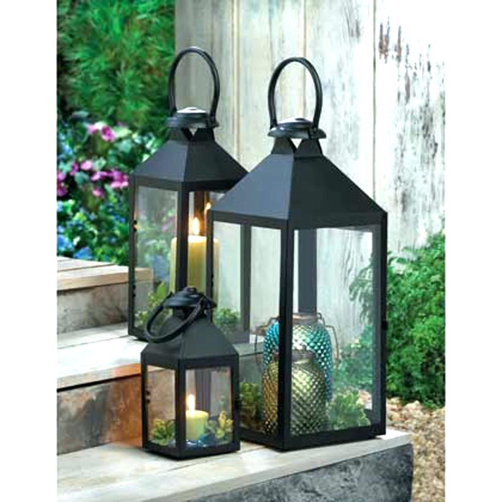 Preferred Outdoor Metal Lanterns For Candles Within Candles ~ Outdoor Lantern Candle Holders Full Image For 4 Inch (Gallery 19 of 20)
