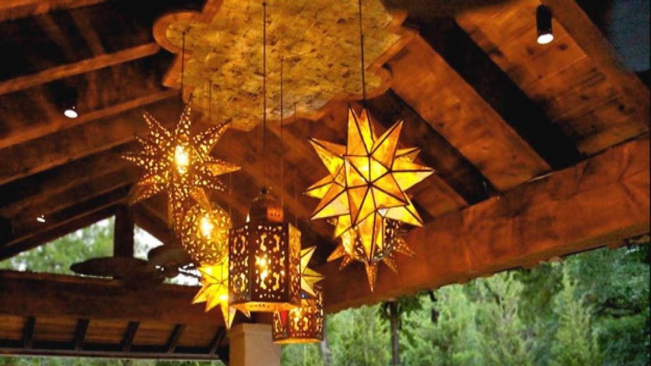 Preferred Outdoor Mexican Lanterns Inside Mexican Style Pendant Lighting New Outdoor Hanging Lamps Wrought (Gallery 17 of 20)