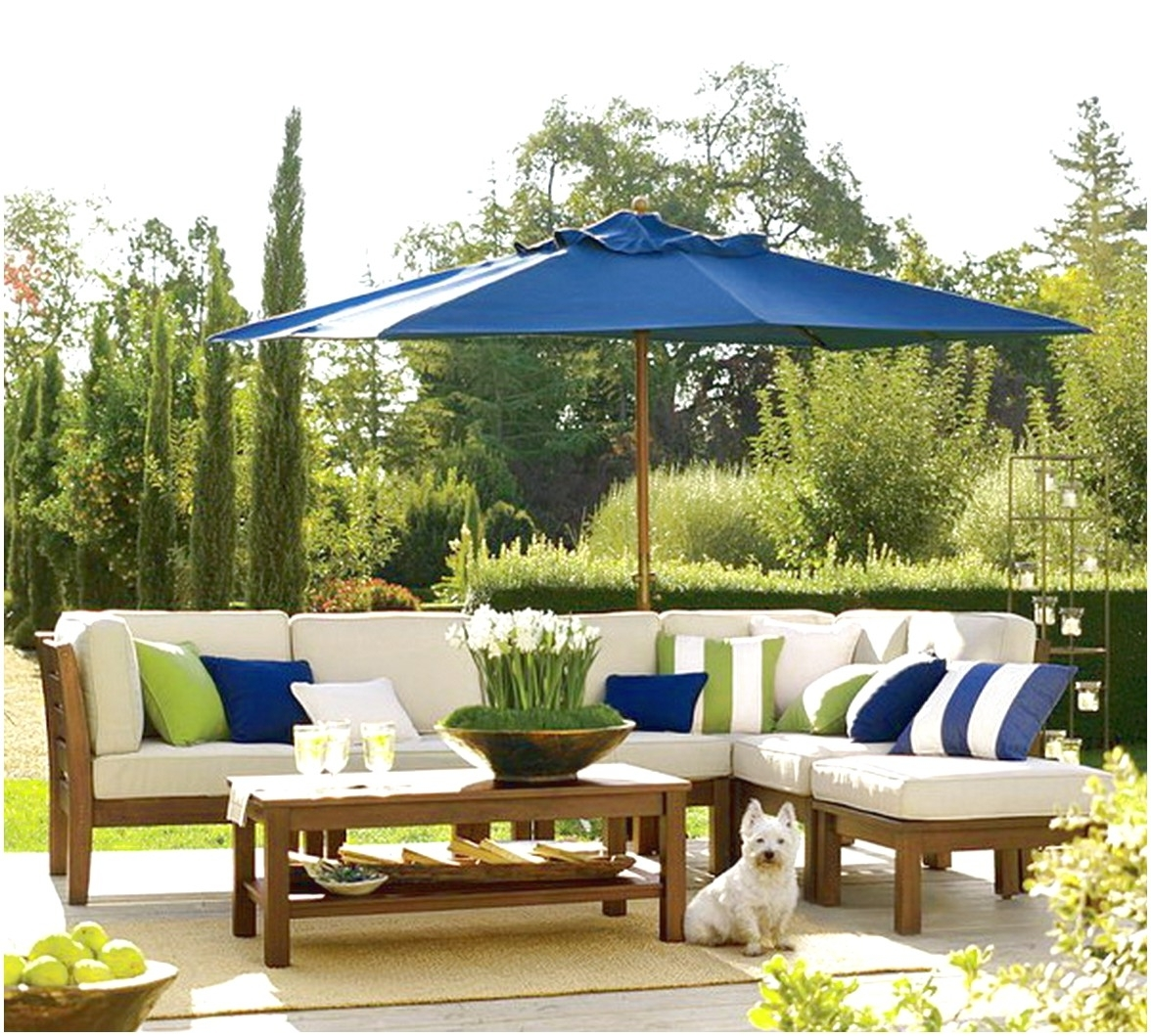 Preferred Outdoor Patio Furniture With Blue Patio Umbrella : Surprising Design Intended For Blue Patio Umbrellas (Gallery 7 of 20)