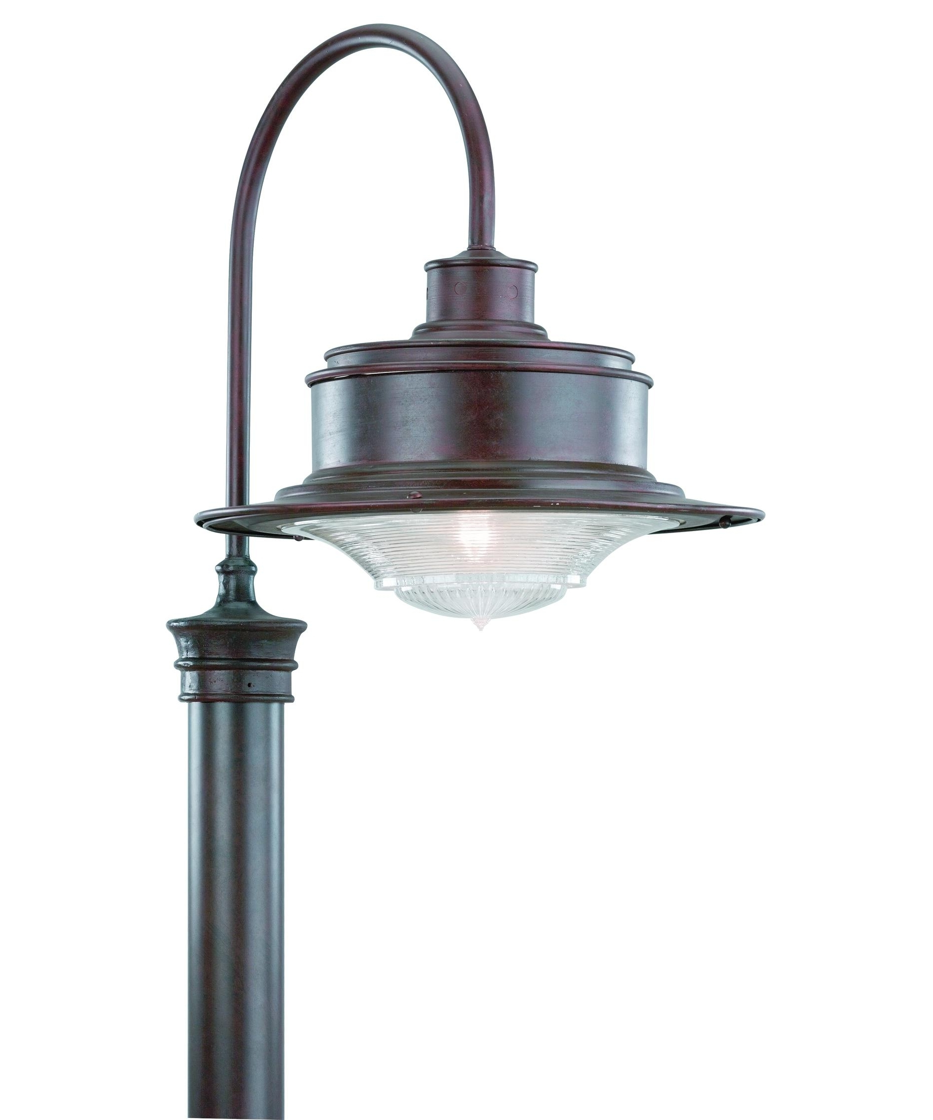 Preferred Outdoor Post Lanterns Within Troy Lighting P9394 South Street 17 Inch Wide 1 Light Outdoor Post (View 4 of 20)