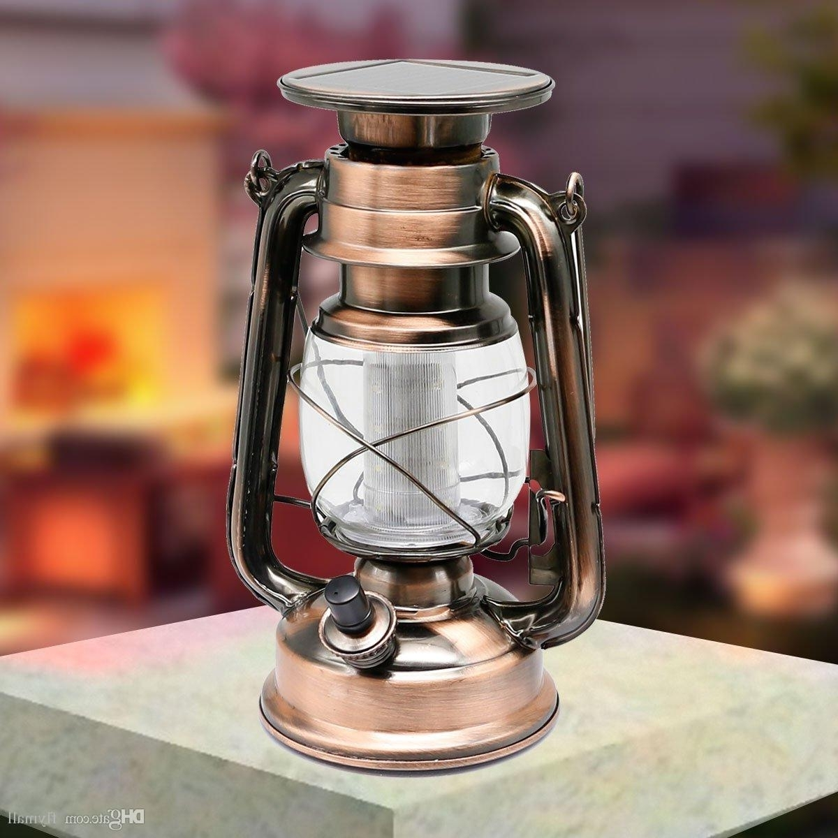 Preferred Outdoor Turkish Lanterns Intended For 12 Led Retro Solar Lamp Portable Led Lantern Solar Outdoor Led (View 15 of 20)