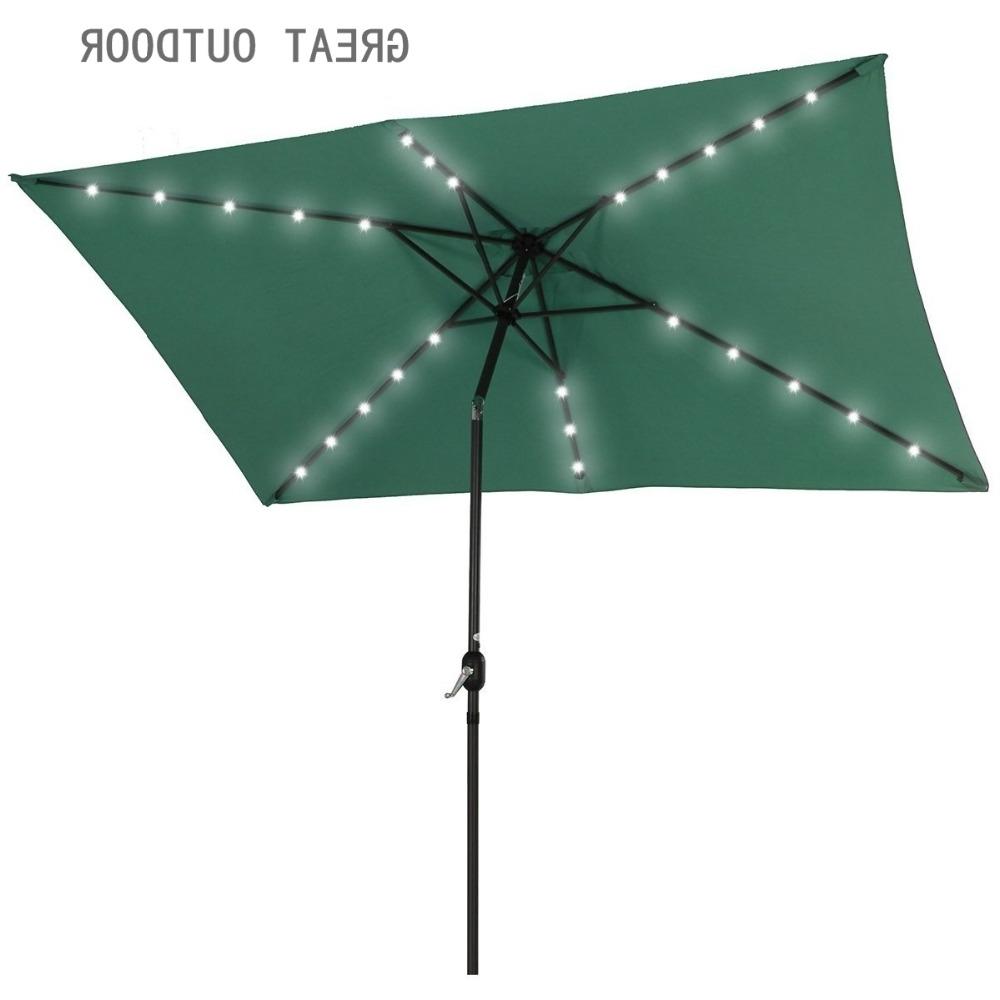 Preferred Patio Umbrellas With Solar Led Lights With Regard To Outdoor Solar Led Light Patio Umbrella – Buy Outdoor Umbrella,solar (View 14 of 20)