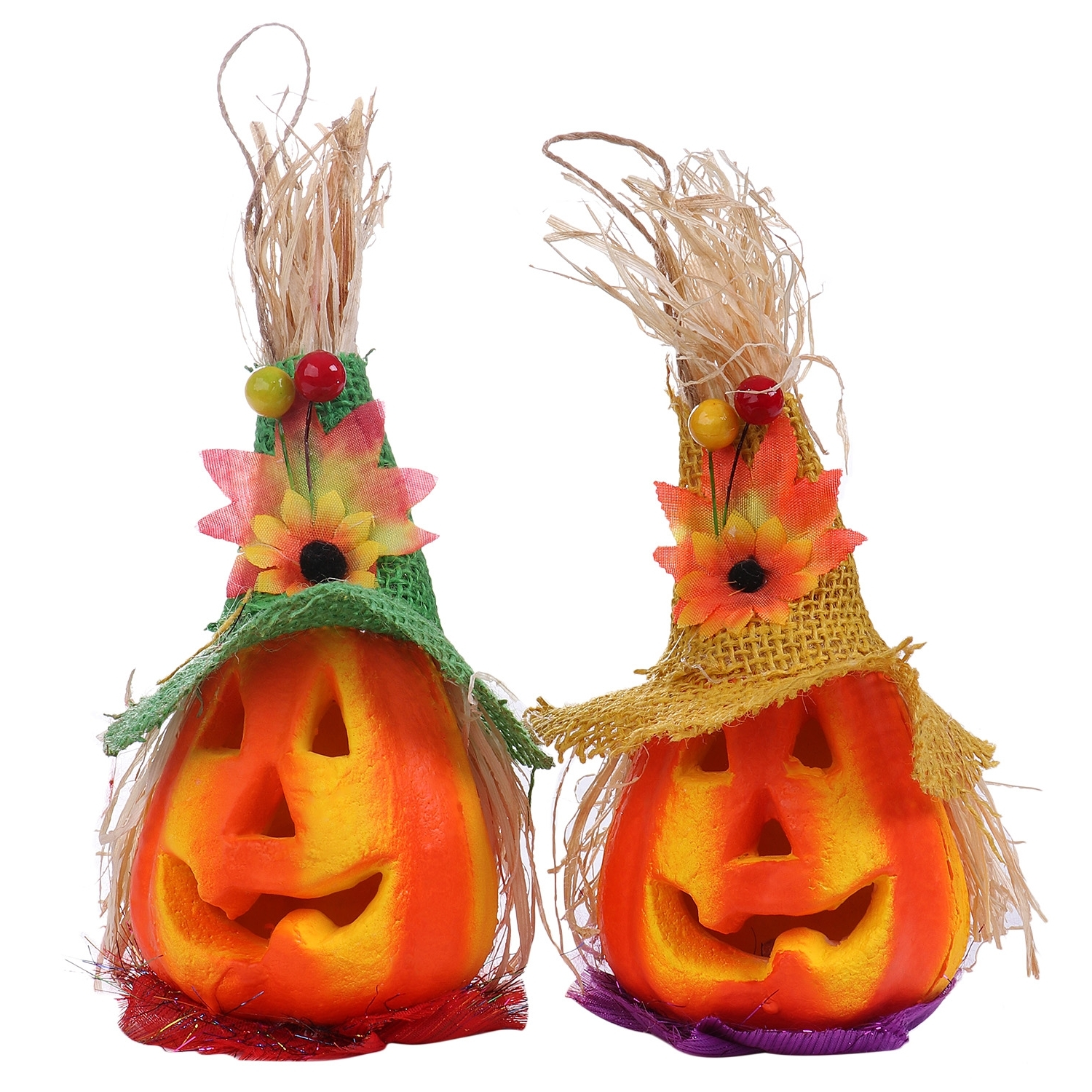 Pumpkin Lanterns Halloween Decoration Led Light House Party Outdoor Within Fashionable Outdoor Pumpkin Lanterns (View 10 of 20)