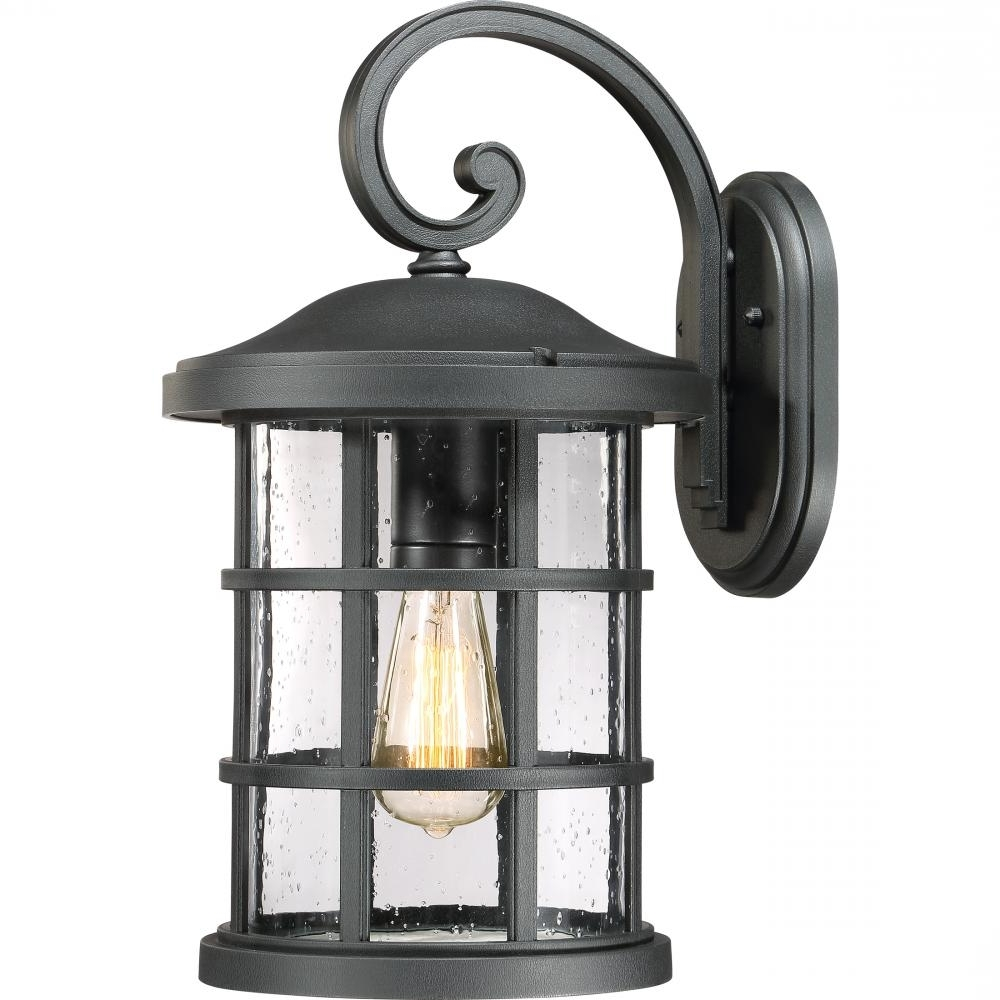Quoizel Outdoor Lanterns Intended For Current Crusade Outdoor Lantern : Cse8410Ek (Gallery 10 of 20)