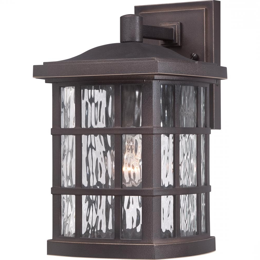 Quoizel Outdoor Lanterns With 2018 Stonington Outdoor Lantern : Snn8408Pn (View 12 of 20)