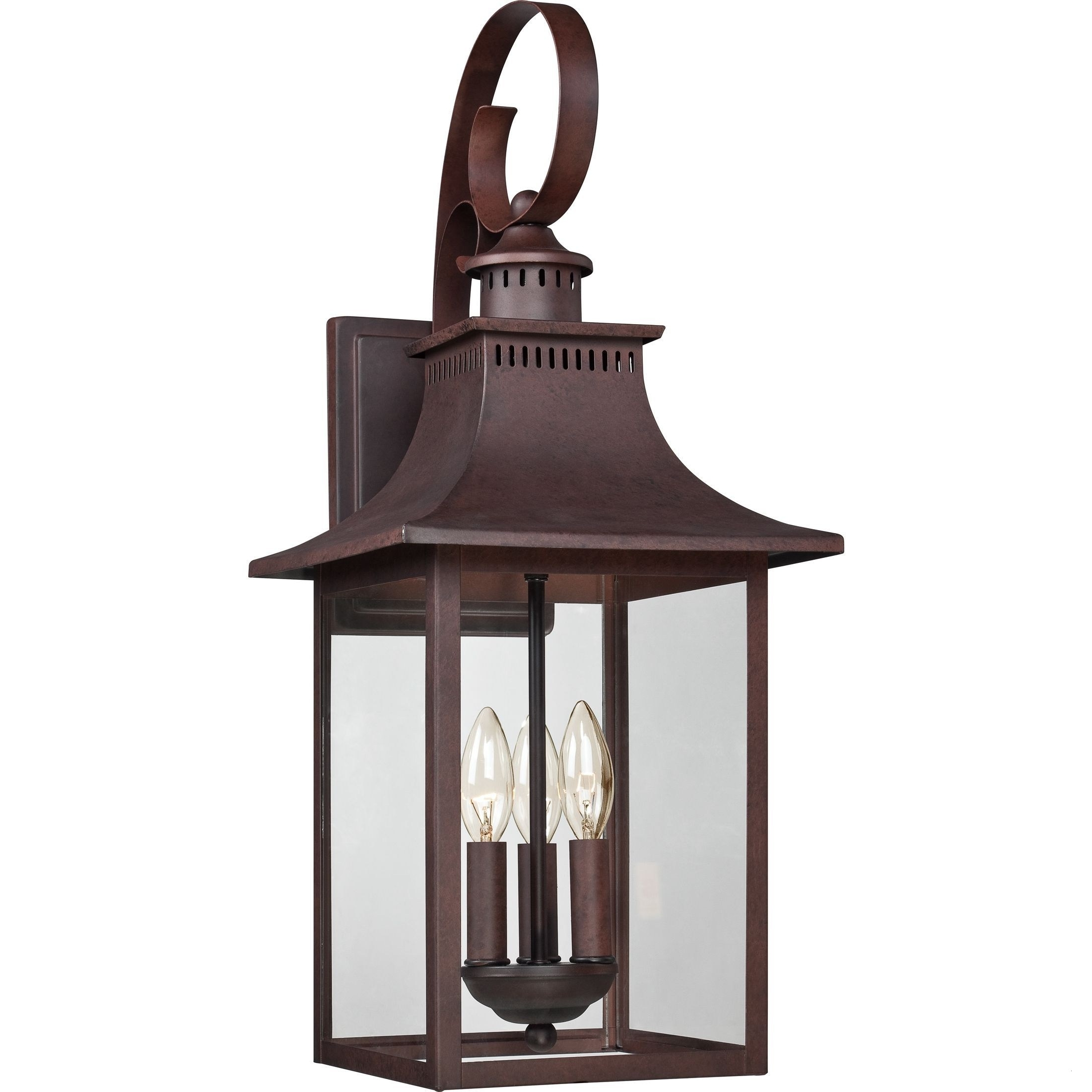 Quoizel Outdoor Lights Lovely Quoizel Chancellor 3 Light Copper In Most Up To Date Quoizel Outdoor Lanterns (Gallery 19 of 20)