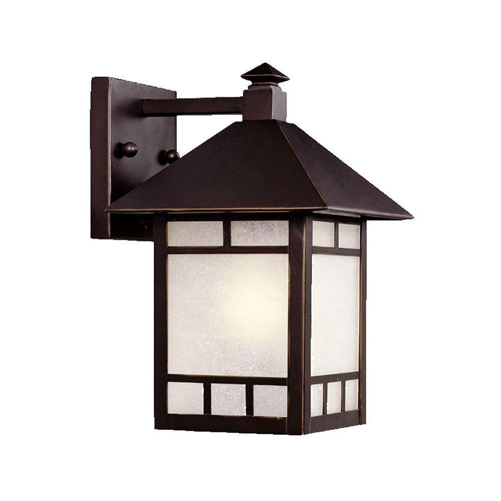 Recent Acclaim Lighting Artisan Collection 1 Light Architectural Bronze Regarding Outdoor Lighting Japanese Lanterns (View 7 of 20)
