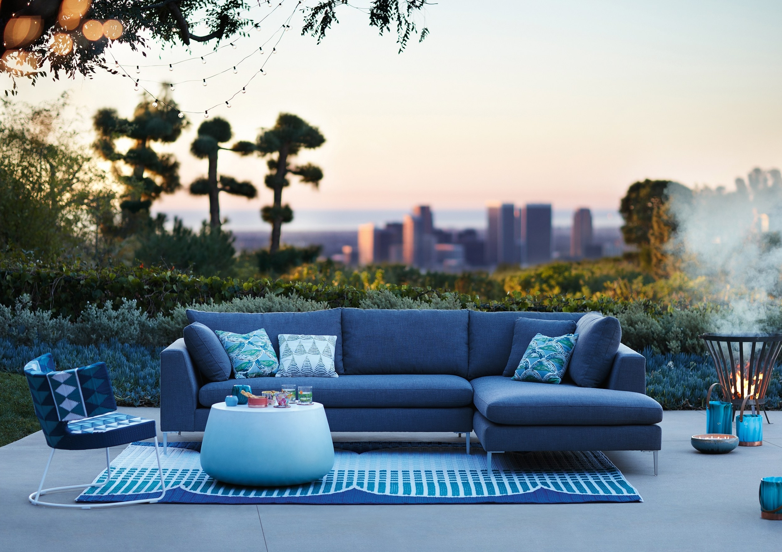 Recent Anthropologie's New Outdoor Furniture Collection Will Blow Your Mind For Exotic Patio Umbrellas (View 17 of 20)