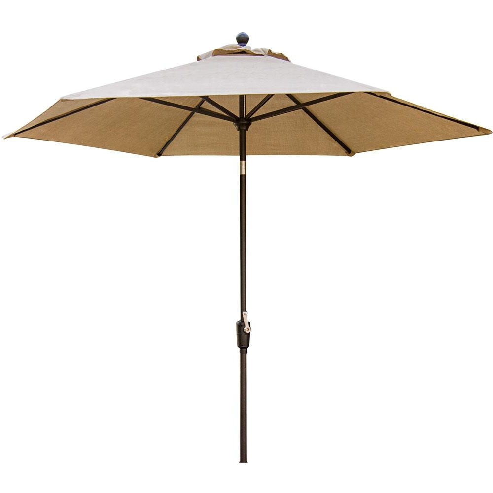 Recent Cambridge Concord 11 Ft. Patio Umbrella In Tan Concrdumb 11 – The Within 11 Ft (View 16 of 20)