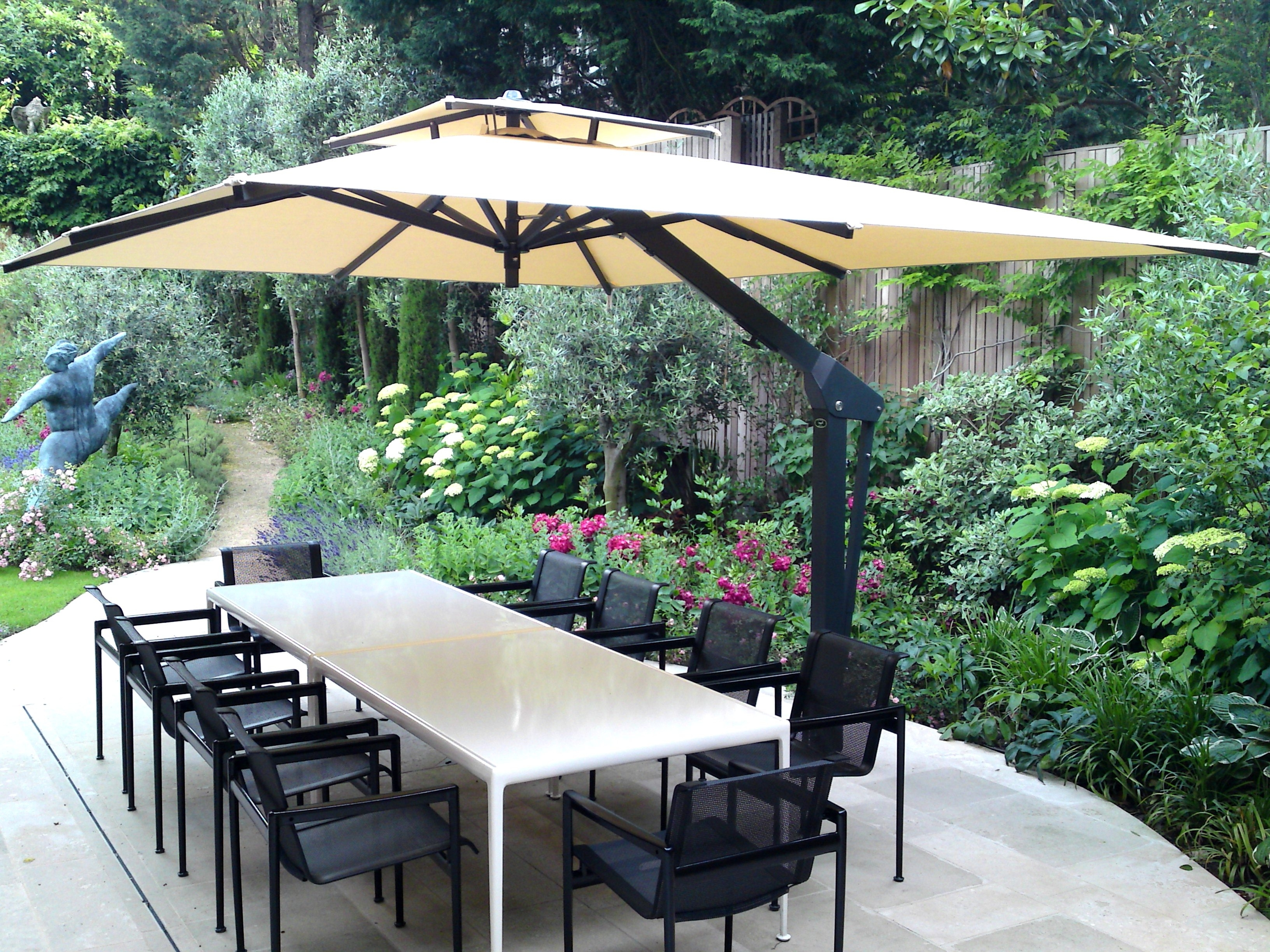 Recent Heavy Duty Patio Umbrellas Throughout Patio Umbrella Decorating Ideas Beautiful Coolest Heavy Duty Patio (View 4 of 20)