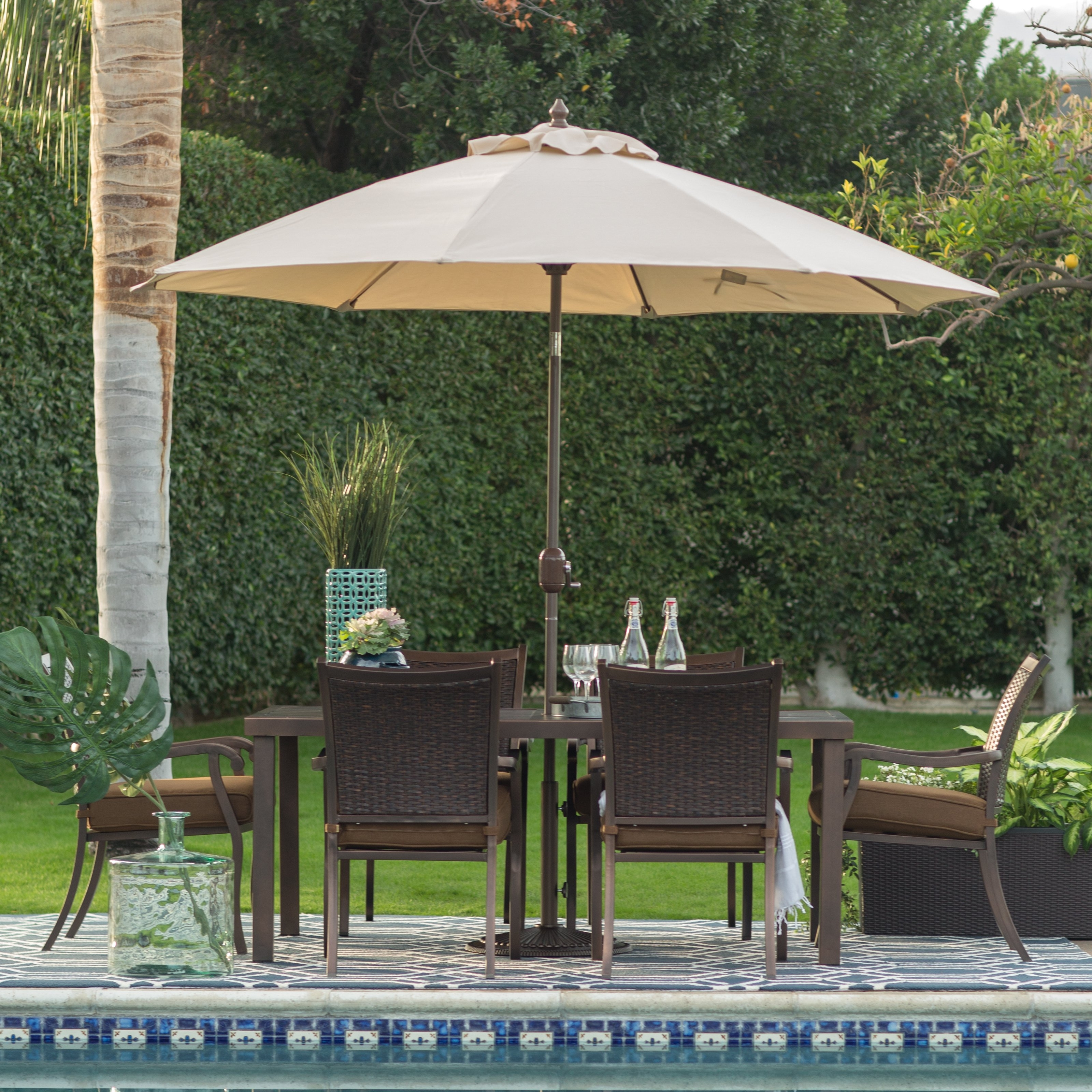 Recent Heavy Duty Patio Umbrellas With Patio Ideas Heavy Duty Patio Umbrella With Cream Patio Umbrella And (View 1 of 20)