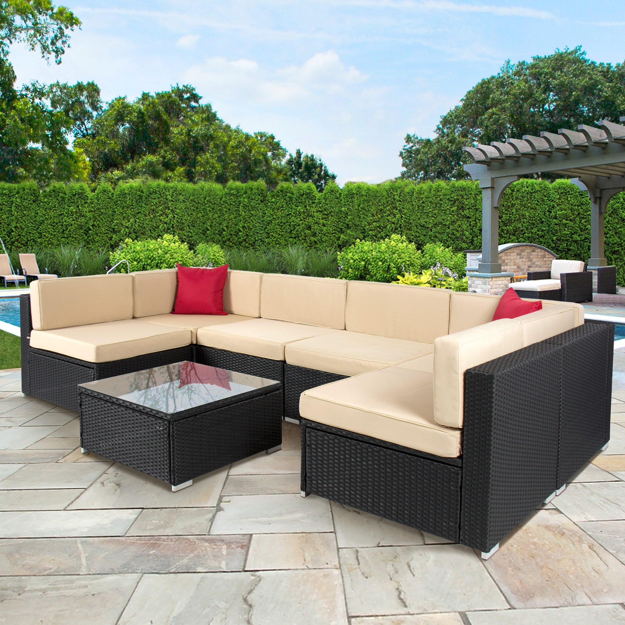 Recent Jewel Patio Umbrellas Pertaining To How To Choose The Right Types Of Outdoor Patio Furniture? – Blogbeen (Gallery 10 of 20)