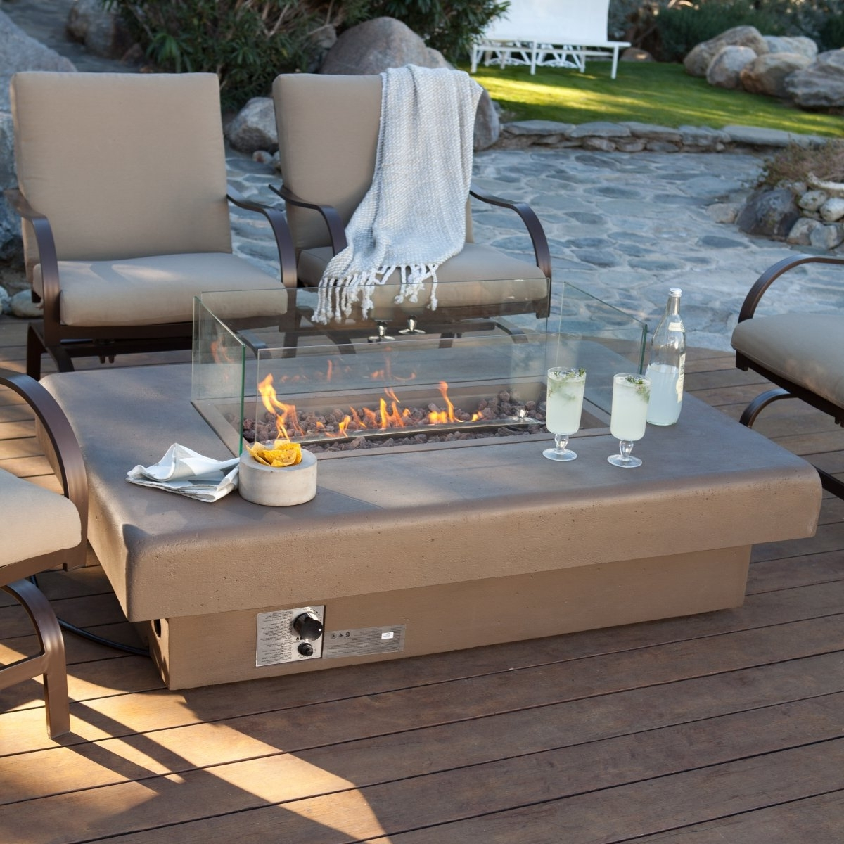 Recent Kroger Outdoor Lanterns In Gas Fire Pit Tables — The New Way Home Decor : Fire Pit Table For (View 17 of 20)