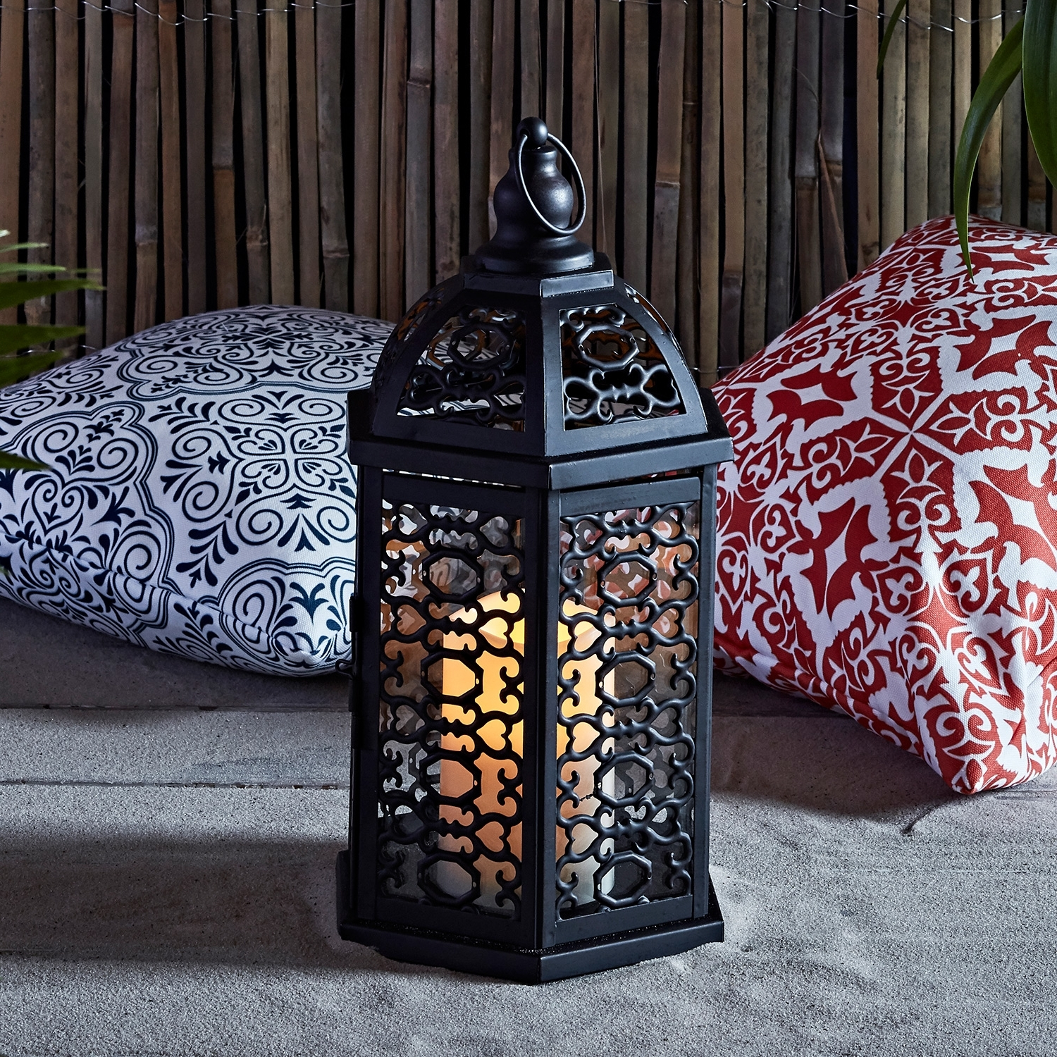 Recent Moroccan Outdoor Electric Lanterns Intended For Lights4Fun, Inc (View 17 of 20)