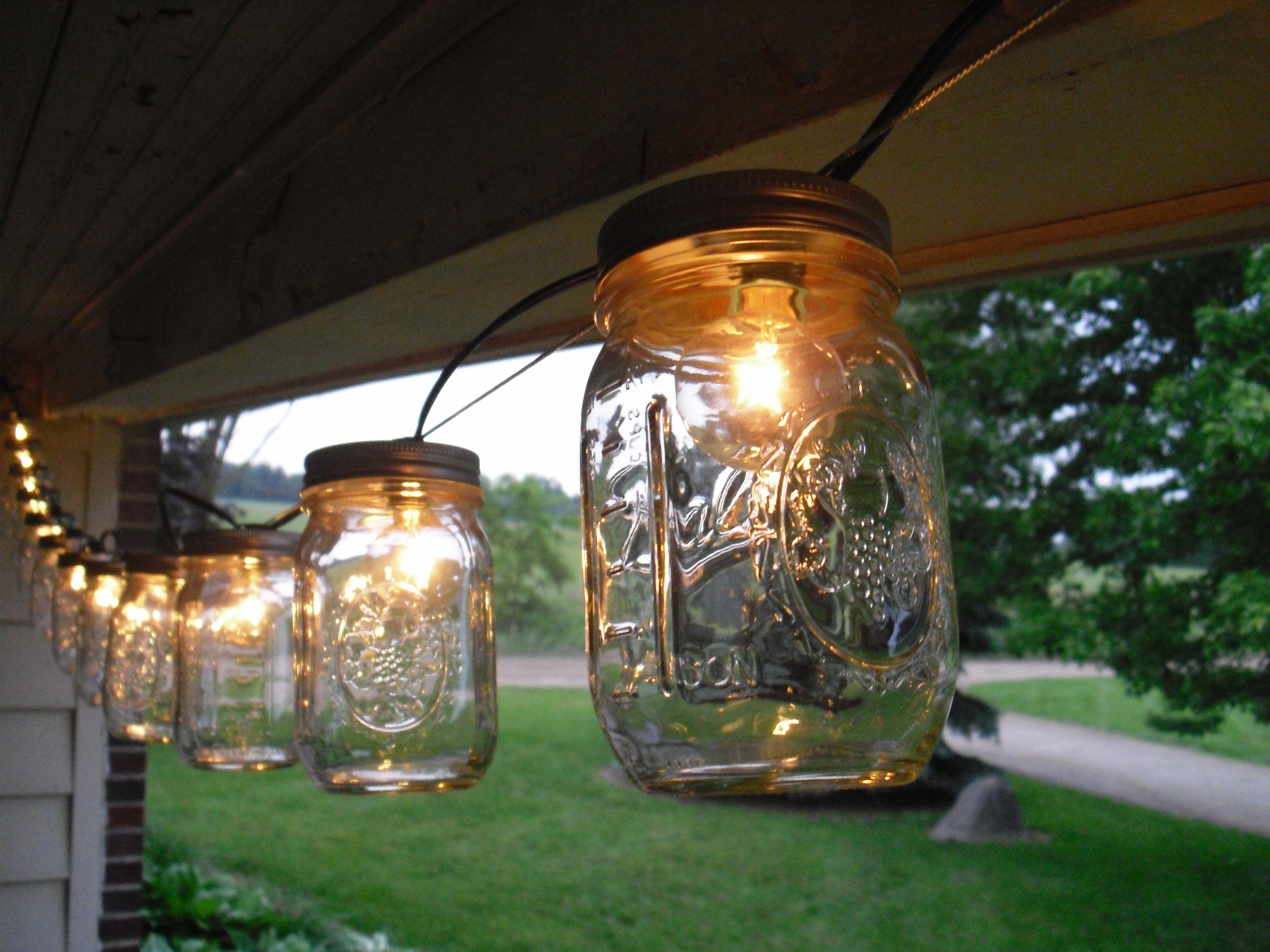 Recent Outdoor Jar Lights – Outdoor Lighting Ideas Intended For Outdoor Jar Lanterns (View 15 of 20)