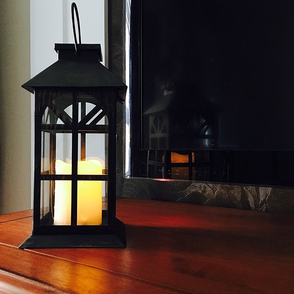Recent Outdoor Lawn Lanterns Pertaining To Steadydoggie Indoor Outdoor Solar Lantern For Patio And Garden (Gallery 6 of 20)