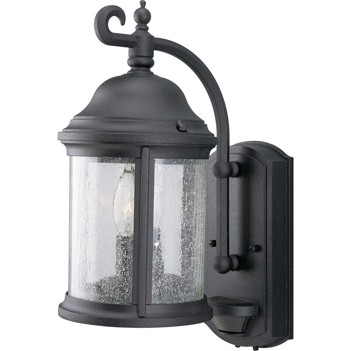 Recent Outdoor Motion Lanterns Pertaining To Progress Lighting P5854 31 Motion Sensor Energy Efficient Outdoor (Gallery 5 of 20)