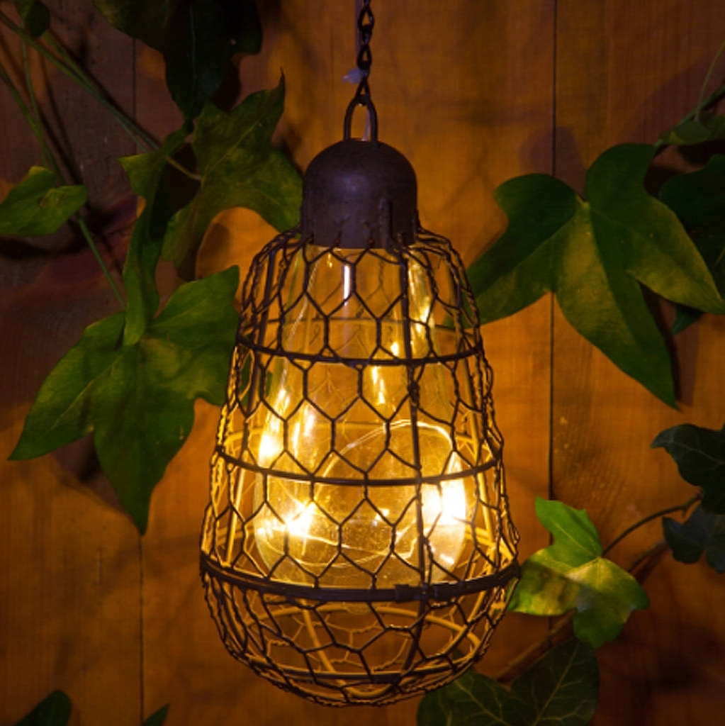 Recent Outdoor Turkish Lanterns Throughout Outdoor Solar Pendant Bulb Hanging Lightred Lilly (Gallery 16 of 20)