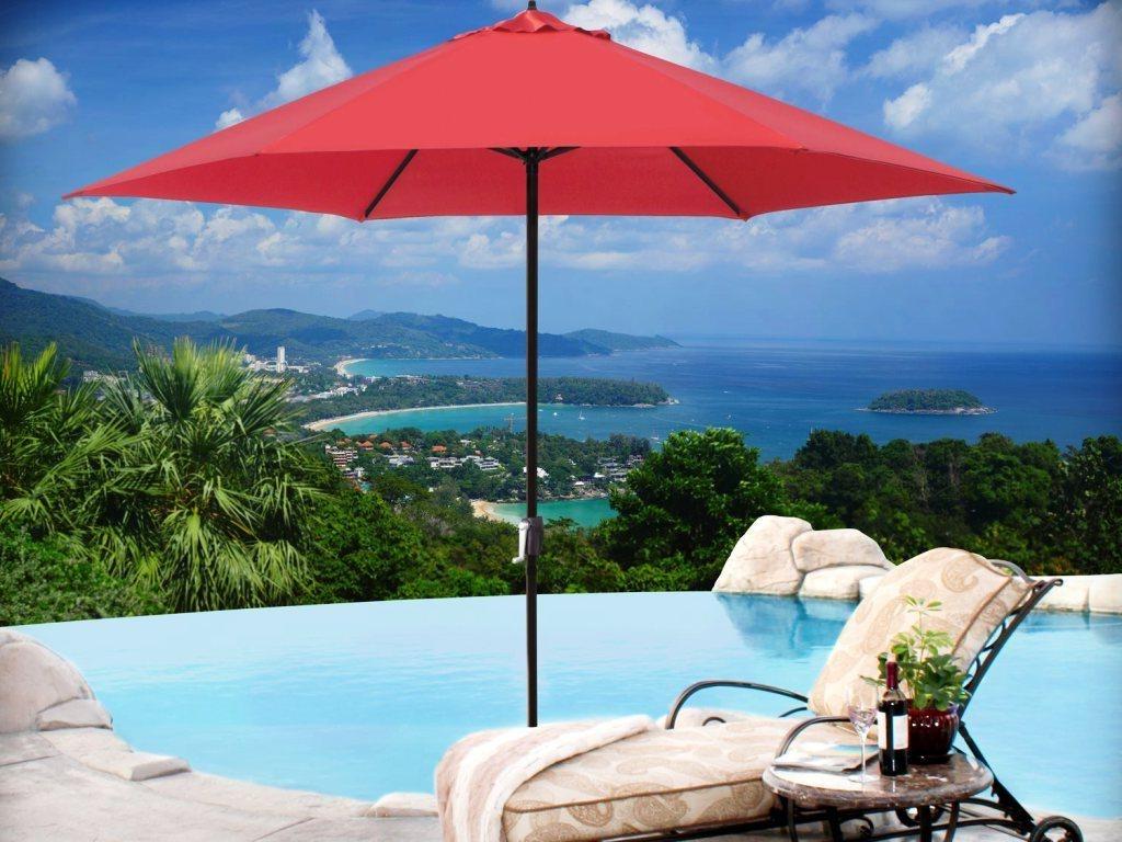 Recent Sunbrella Patio Umbrellas : Custom Commercial Patio Umbrellas With Throughout Commercial Patio Umbrellas Sunbrella (View 11 of 20)