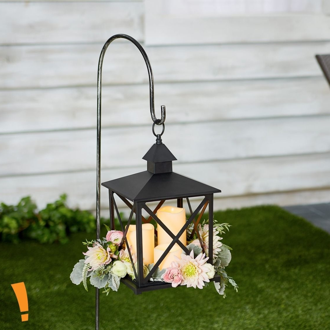 Recent The Perfect Setting For An Outdoor Wedding Or Backyard Fiesta. Hang Regarding Big Lots Outdoor Lanterns (Gallery 3 of 20)