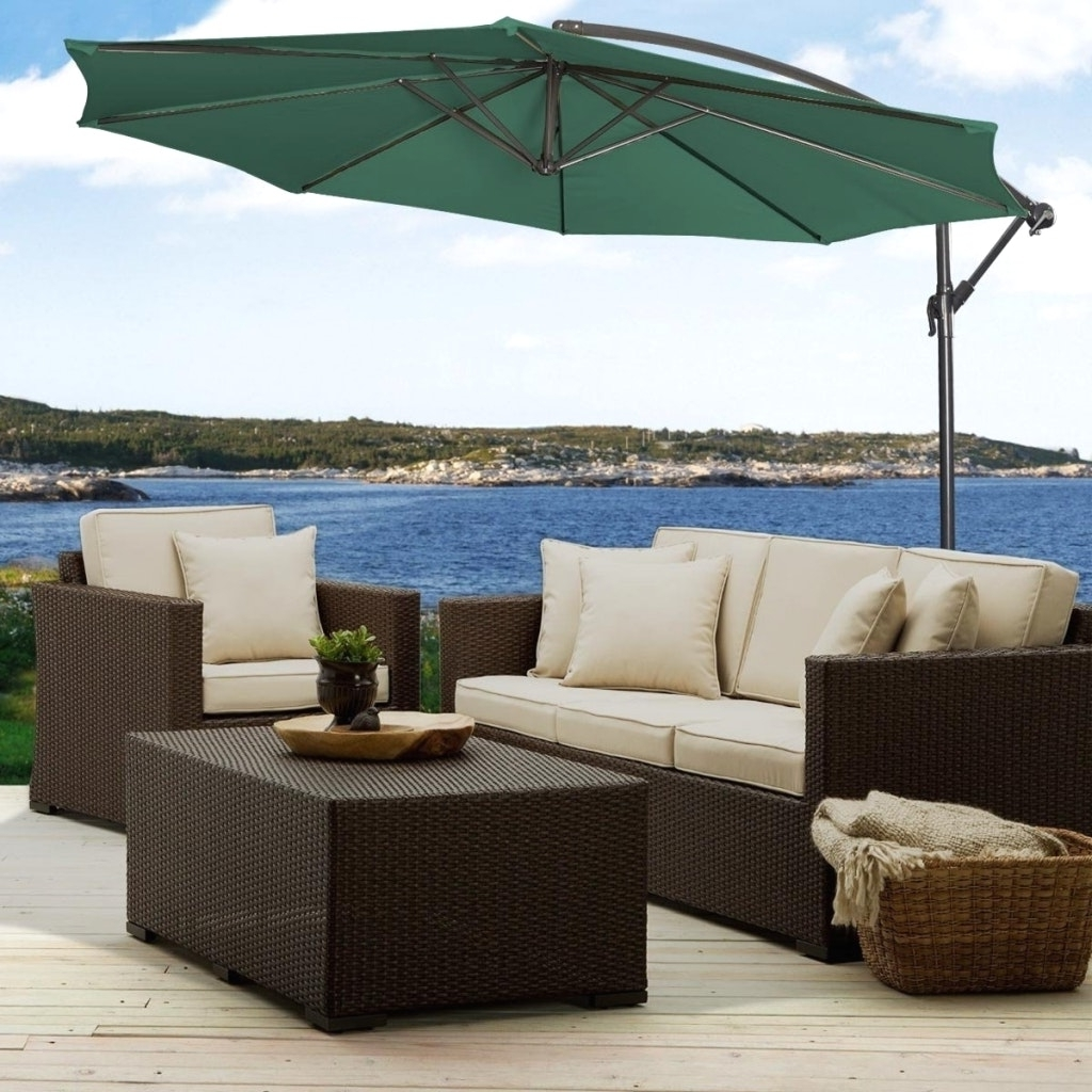 Recent Unusual Patio Umbrellas Intended For Pleasing Outdoor Patio Wicker Furniture Santa Barbara With And (View 11 of 20)
