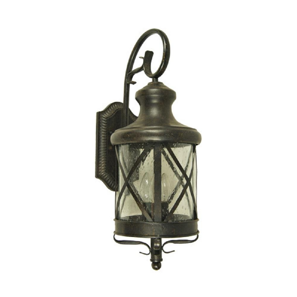 Resin Outdoor Lanterns In Newest Y Decor Taysom 4 Light Oil Rubbed Bronze Outdoor Wall Mount Lantern (View 18 of 20)