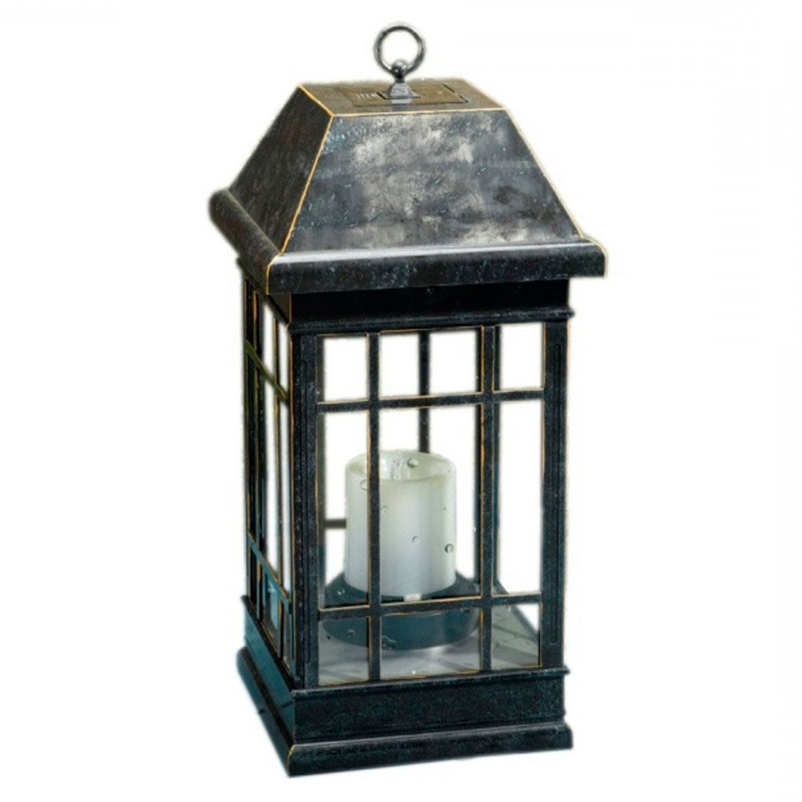 Resin Outdoor Lanterns Inside Widely Used Seville Solar Lantern (View 8 of 20)