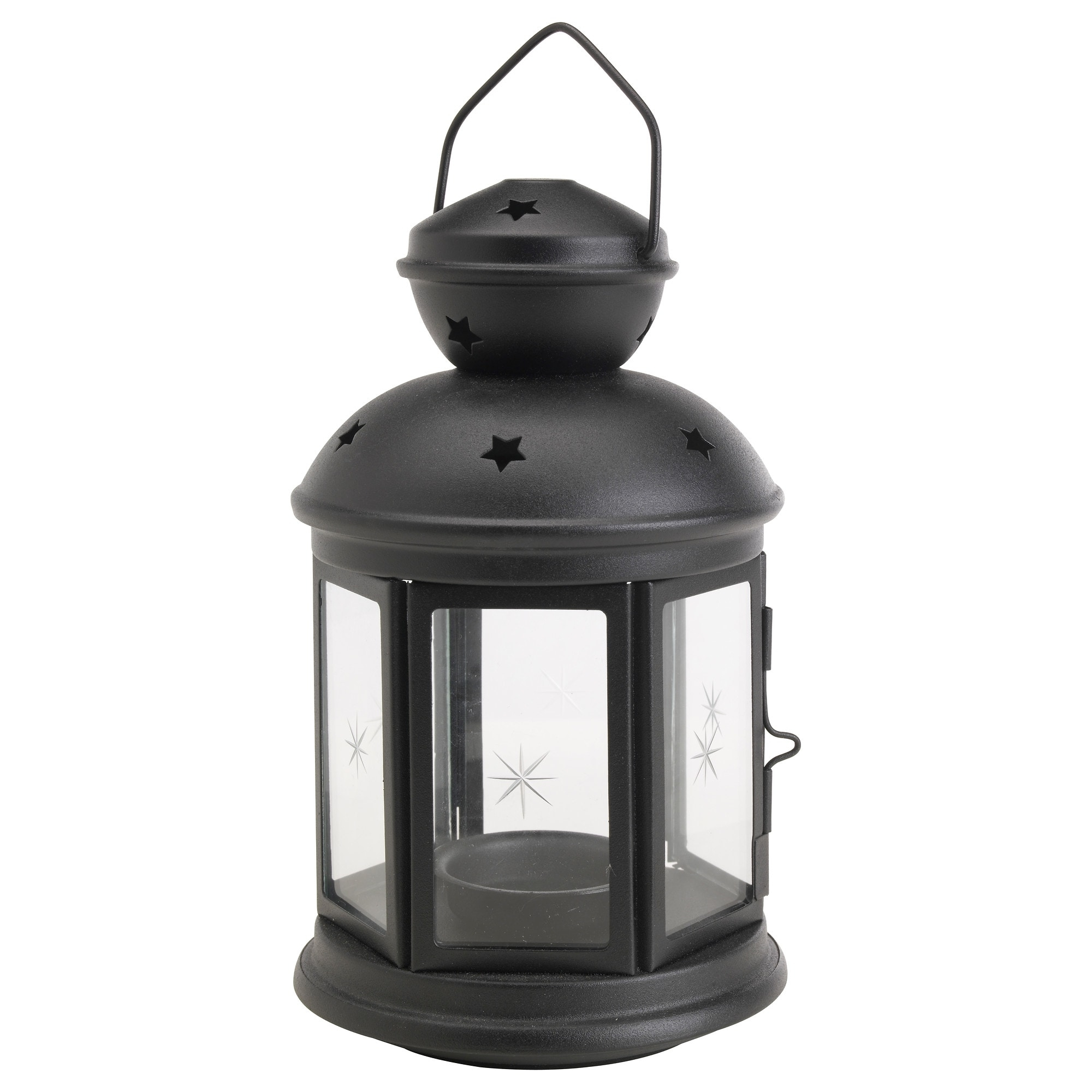 Rotera Lantern For Tealight In/outdoor Black 21 Cm – Ikea Throughout Most Up To Date Outdoor Orange Lanterns (View 11 of 20)