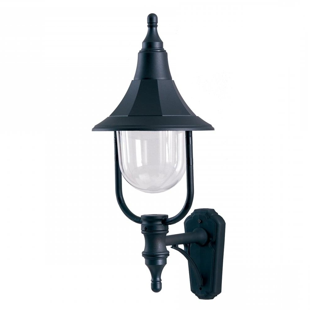 Rust Proof Outdoor Lanterns Pertaining To Well Liked Black Outdoor Wall Lantern Designed To Withstand Salty Seaside Locations (View 4 of 20)