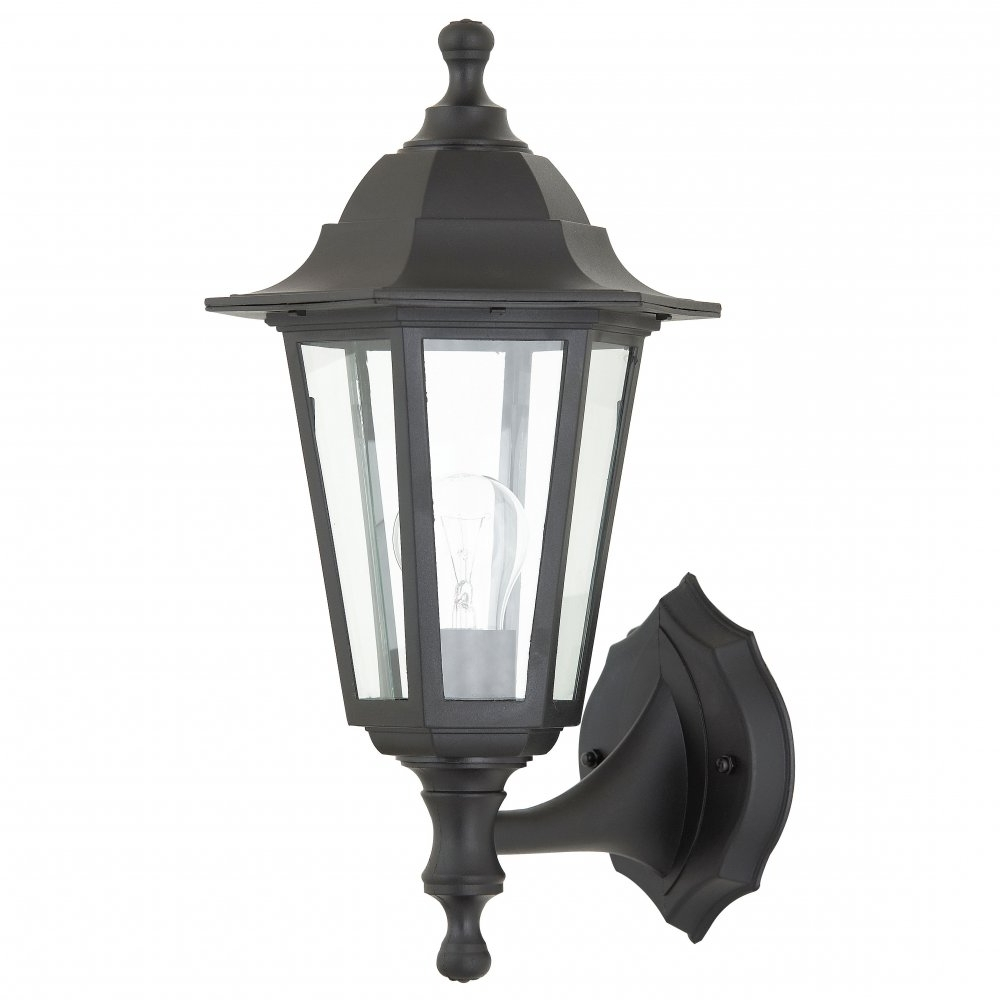 Rust Proof Outdoor Lanterns With 2019 Endon Lighting El 40045 Polycarbonate Up/down Wall Lantern – Endon (Gallery 19 of 20)