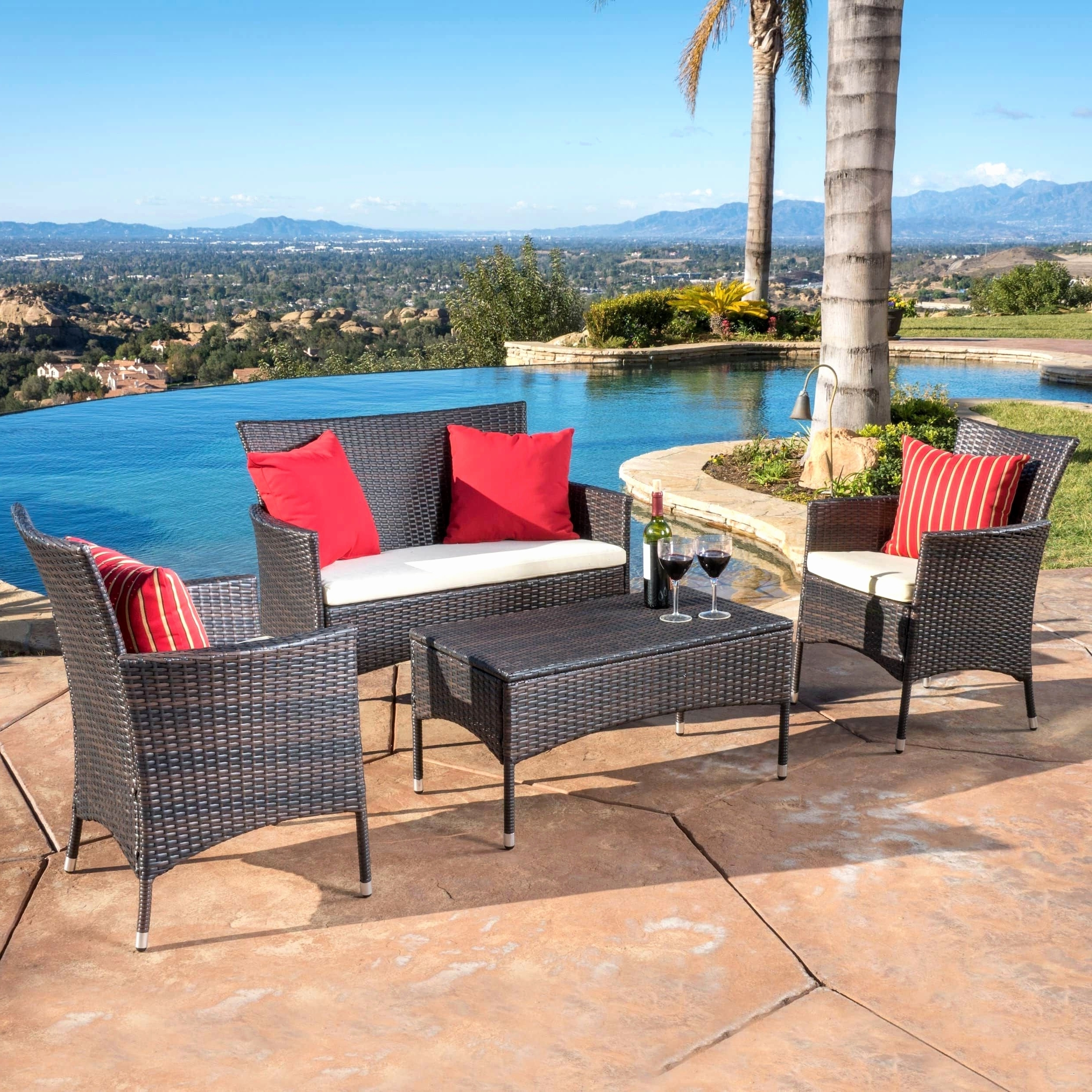 Safavieh Outdoor Furniture Lovely Outdoor Dining Patio Furniture Regarding Most Up To Date Patio Dining Umbrellas (View 14 of 20)