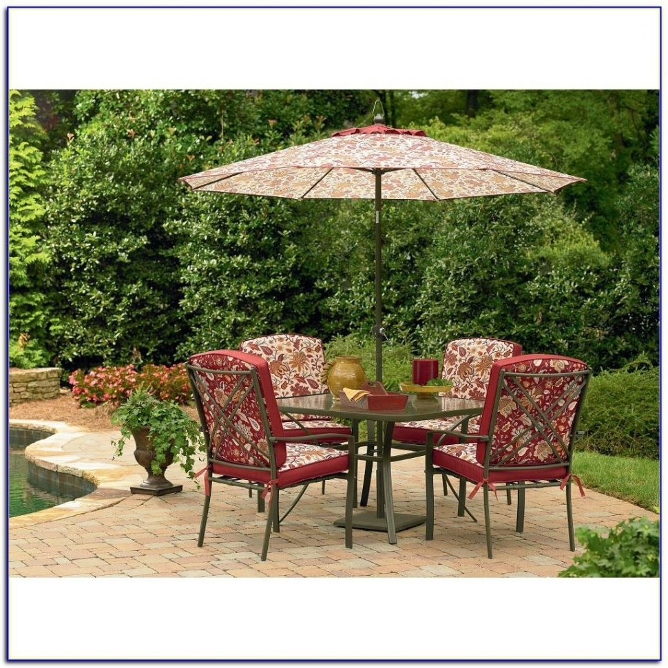 Sears Outdoor Furniture Table Umbrellas With Fire Pit Chaise Lounge In Well Known Sears Patio Umbrellas (View 7 of 20)