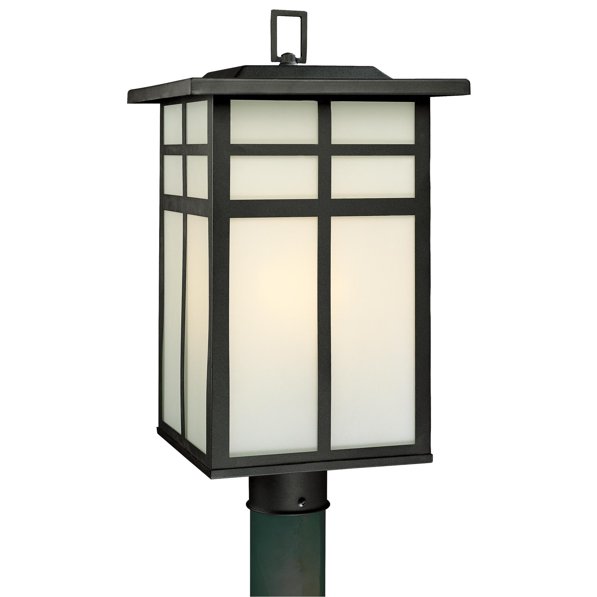 Sevenstonesinc Inside Outdoor Lanterns On Post (View 19 of 20)
